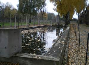 Auschwitz swimming pool, copyright unknown