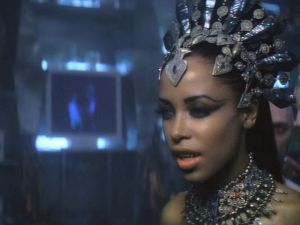Aaliyah as Akasha in Queen of the Damned, 2002
